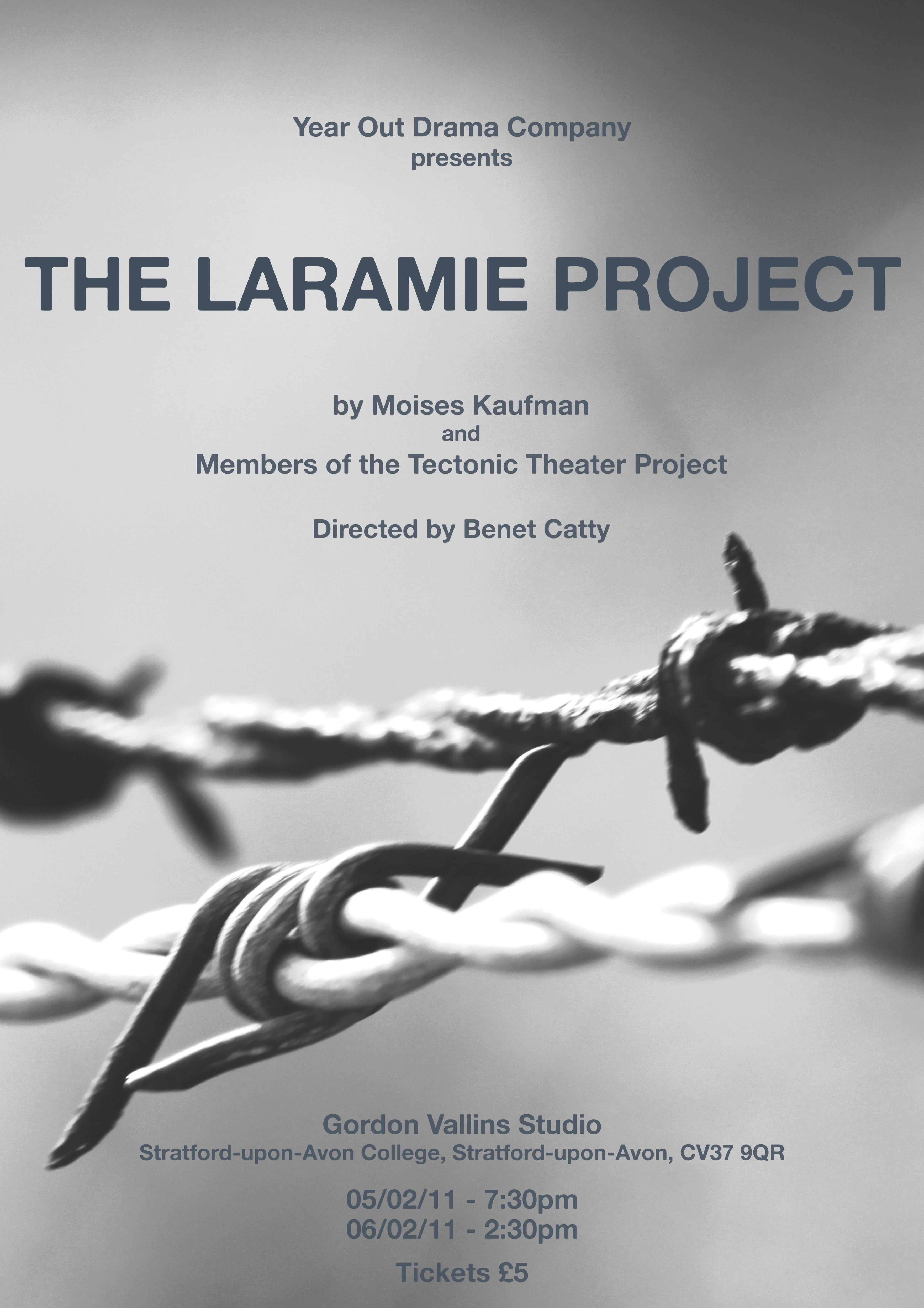 an analysis of the laramie project a play by moiss kaufman and members of the tectonic theater proje In 1998, matthew shepard was murdered in laramie, wyoming no, he was not part of any crime organization in fact he didn't have many personal enemies at all he was murdered because he was gay this triggered many new hate crime laws to be passed, and also got moises kaufman to take members of his.